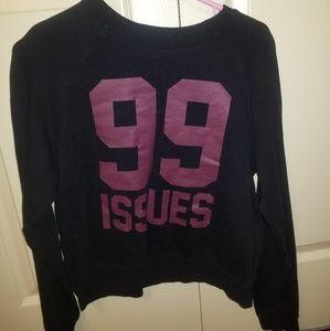 99 issues long tee